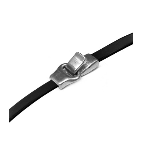 Zamak Clasp Hook 26x13mm (Ø 5.2x1.7mm)