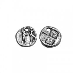 Μεταλλικό Ζάμακ Χυτό Μοτίφ Στρογγυλό Νόμισμα 18mm