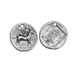 Μεταλλικό Ζάμακ Χυτό Μοτίφ Στρογγυλό Νόμισμα 25mm