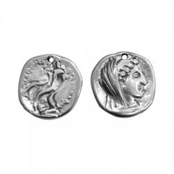 Zamak Pendant Round Coin 25mm