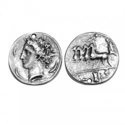 Zamak Pendant Round Coin 32mm