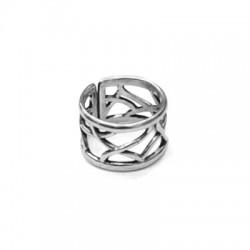 Pewter Ring 20x13mm