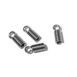Metal Spring Coil with Loop (Ø 2mm)