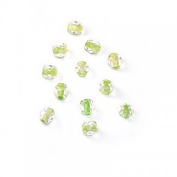 Crystal Bohemian Bead Round Faceted 4mm