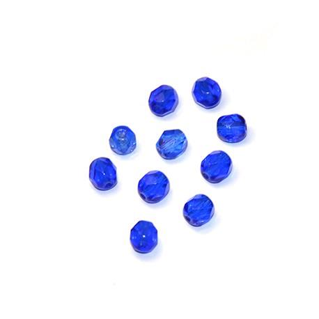 Κρύσταλλο Βοημίας Χάντρα Στρογγυλή Πολυεδρική 6mm