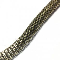 """Chaîne en Acier """"Serpent"""" 6mm (~1mtr/cordon)"""