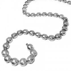 Steel Chain Round Flat 8.5mm