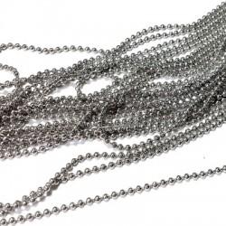 Brass Chain 1.5mm - L 45cm