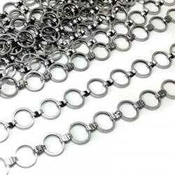Brass Chain Round 10mm