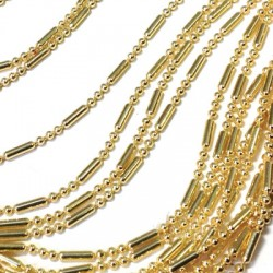 Brass Ball Chain 1.5mm with Tube