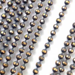Chaîne en Métal/Laiton Coupe Diamant 3,2mm