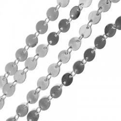 Brass Chain Round Links 6mm (Ø 0.2mm)