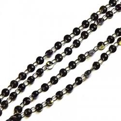 Brass Link Chain Round 4mm