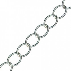 Catena in Alluminio Ovale 11x14.2mm (Spessore 1.5mm)