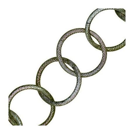 Αλυσίδα Αλουμινίου Κρίκος 31mm/3.1mm (31τμχ/πακέτο)