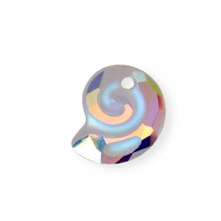 Passant Escargot en Crystal Swarovski 14mm