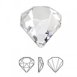 Cristal Swarovski 4928 Diamant 12mm