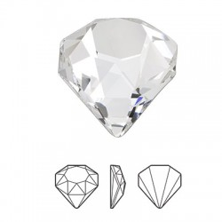 Swarovski 4928 C 12mm Diamond Base