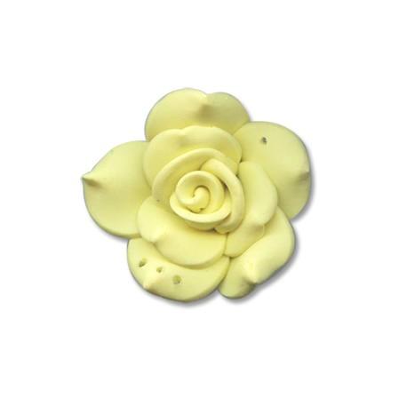 Πολυμερικός Πηλός Στοιχείο Λουλούδι Περαστό 40mm