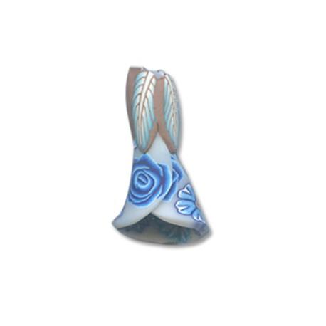 Mosaic Slider Flower 17x21mm
