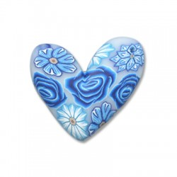 Mosaic Slider Heart 30mm