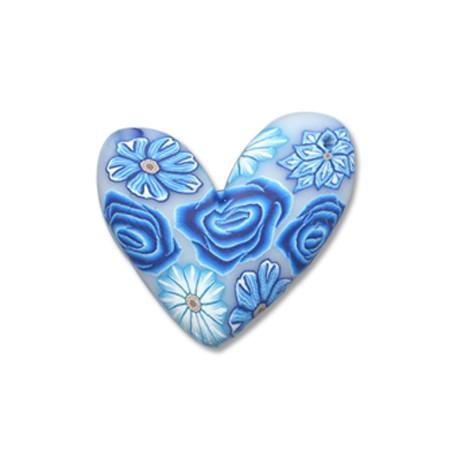Φίμο Μοτίφ Καρδιά 30mm