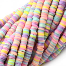 Polymer Clay Washer Heishi ~6mm (~293pcs/pack)