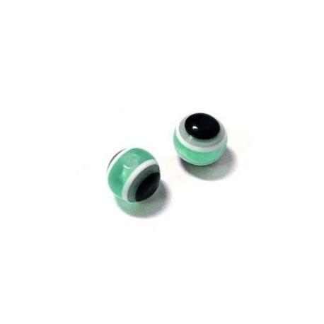 Perlina in Resina con Occhio 10mm
