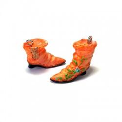 Ciondolo Stivali in Resina 23x21mm