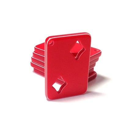 Ciondolo Carte da Gioco in Resina 26x37mm