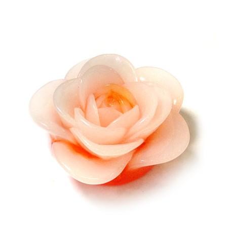 Πολυεστερικό Στοιχείο Λουλούδι Περαστό 38-40mm