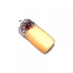 Ciondolo Biscotto in Resina 40mm