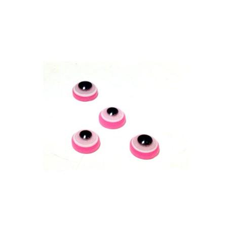 Cabochon Rotondo con Occhio in Resina 8mm