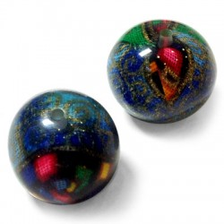 Resin Ball with Fabric 28mm