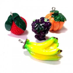 Resin Fruits 4 assorted