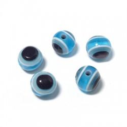 Perlina in Resina con Occhio 6mm (Ø 1.5mm)