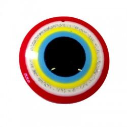 Ciondolo Rotondo in Resina con Occhio 50mm