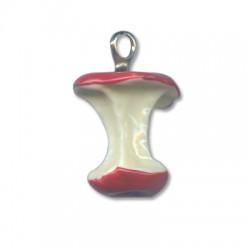 Ciondolo Torsolo di Mela in Resina 3x2.6cm