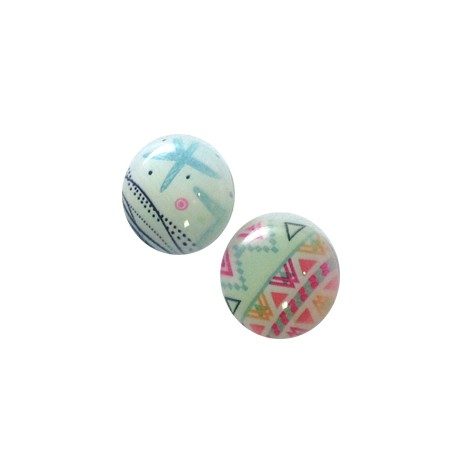 Resin Round Cabochon 18mm