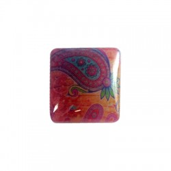 Resin Square Cabochon 26mm