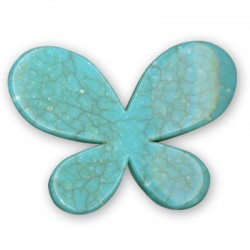 Acrylic howlite effect Butterfly 45x33mm