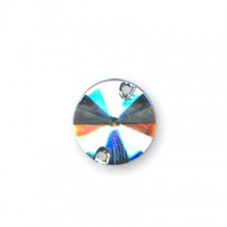 Acrylic Flatback Sew-On Cone 12mm
