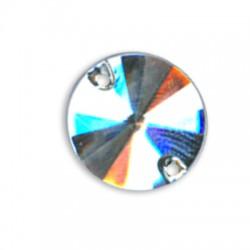 Ακρυλική Πέτρα Στρογγυλή Κωνική για Ράψιμο 16mm