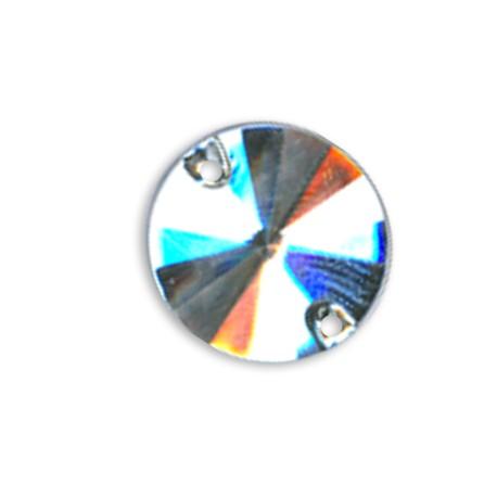 Cabochon Cono in Acrilico da Cucire 16mm