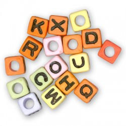 Acrylic Square Letter 7mm