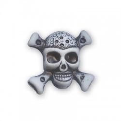 Acrylic Skull 25x24mm