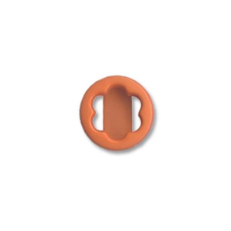 Ακρυλικό Στοιχείο Λουλούδι Περαστό 18mm(Ø15x4mm)