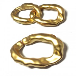 Acrylic Oval Ring 29x21mm