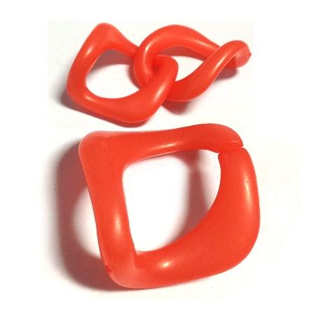 Acrylic Square Ring 32x31mm
