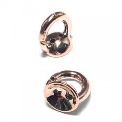 Acrylic Ring/Cup 12x15mm (Ø 3mm)
